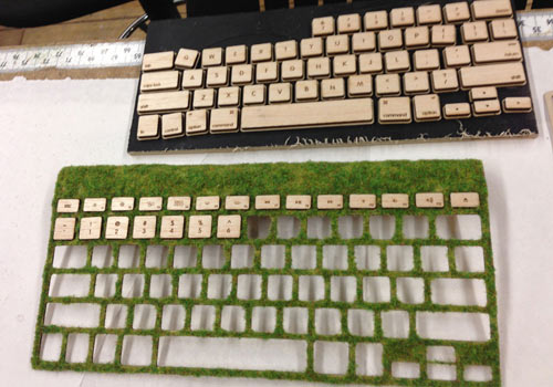 Natural Keyboard by Robbie Tilton in technology main  Category