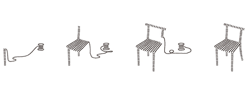 Fishline Chair by Nendo in main home furnishings  Category
