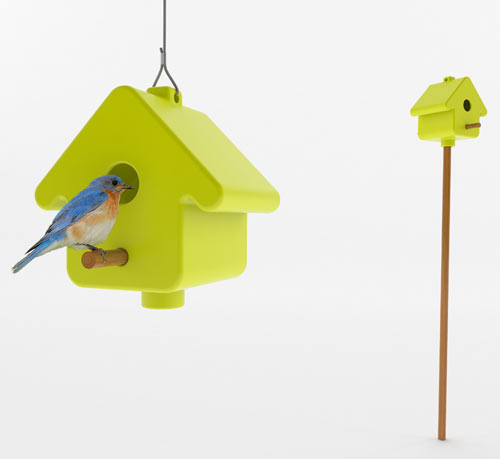 PICTO Birdhouse by Birds for Design