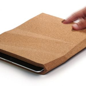 Cork iPad Case by pomm