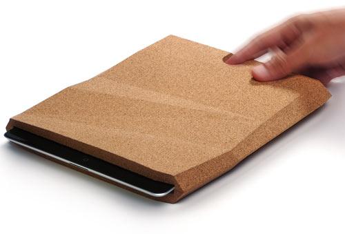 Cork iPad Case by pomm