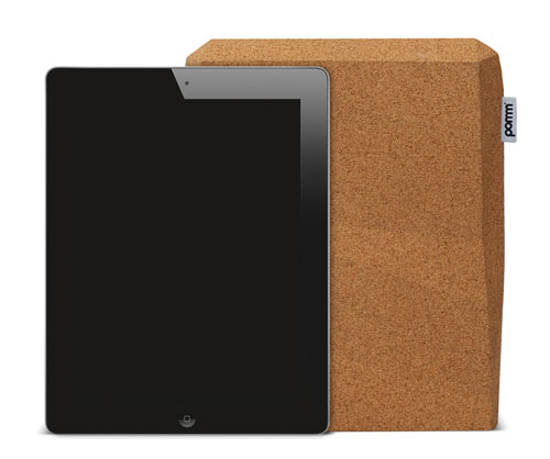 Cork iPad Case by pomm in technology style fashion main  Category