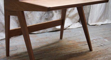 Mid-Century Nelson-Inspired Laura Desk by Phloem Studio