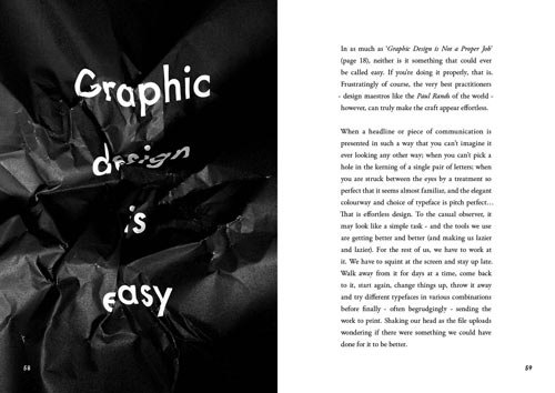 Popular Lies About Graphic Design by Craig Ward in style fashion main art  Category