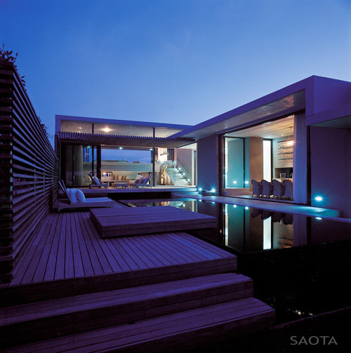 Split Level Beach House in South Africa by SAOTA in main architecture  Category