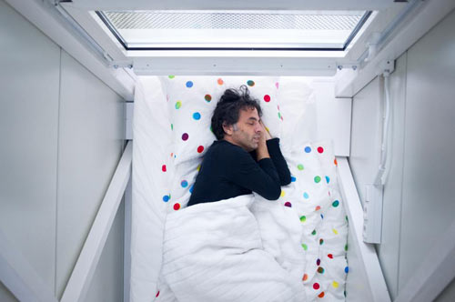 World's Thinnest House: Keret House by Jakub Szczesny