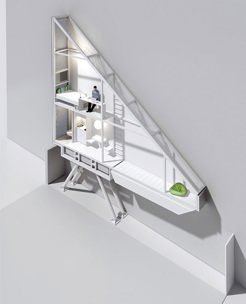 Worlds Thinnest House: Keret House by Jakub Szczesny in main interior design architecture  Category