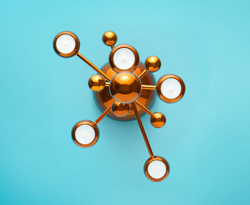 Teluria Candelabra by Note Design Studio for Klong in home furnishings  Category