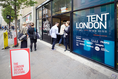 London Design Festival 2012: Tent London in news events  Category