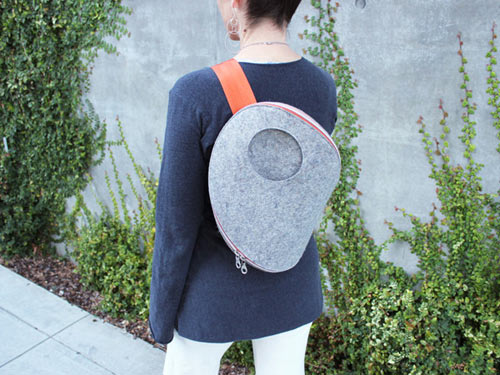 UM Pack Felt Bag by Actual in style fashion main  Category
