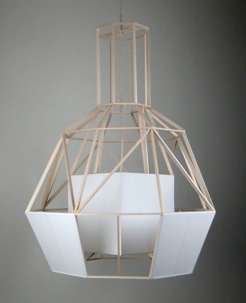 Vederlicht Hanging Lamp by Daniel Hulsbergen in main home furnishings  Category