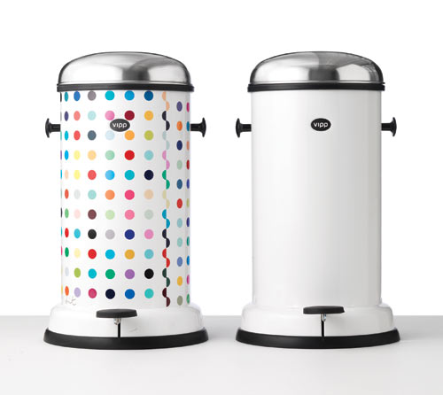 The Dotted Vipp Bin by Damien Hirst in main home furnishings art  Category