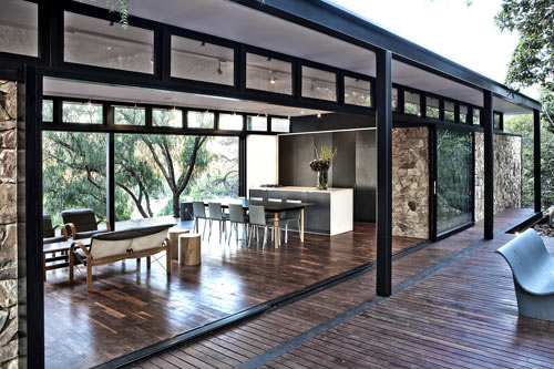 Westcliff Pavilion House by GASS Architecture Studio in architecture  Category