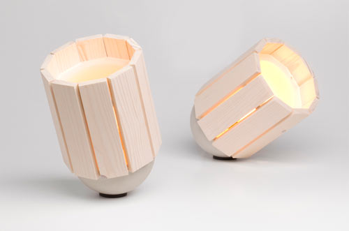 Baby Barrel Lamp by Nieuwe Heren in home furnishings  Category