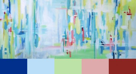 Erin Cooper's Abstract Paintings
