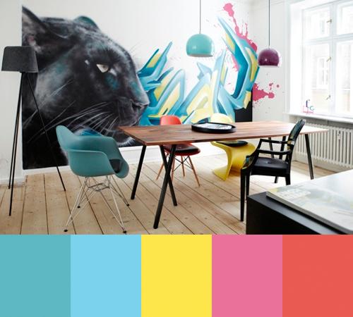 Edgy Interiors by Stylist Katrine Martensen-Larsen