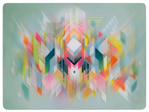 Layered Geometric Artwork by Francesco Locastro in art  Category