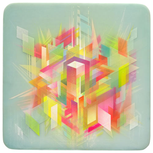 Layered Geometric Artwork by Francesco Locastro in main art  Category
