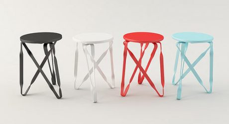 Twist-Grille Stool by Yen Hao Chen and Hui-Ying Lu