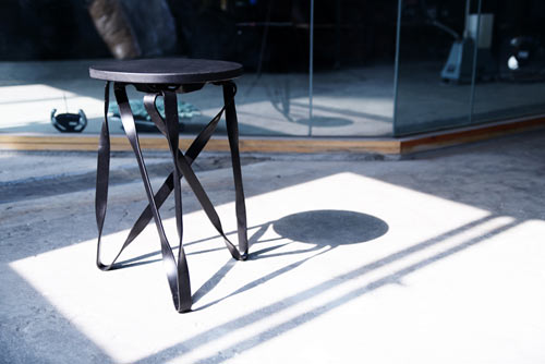 Twist Grille Stool by Yen Hao Chen and Hui Ying Lu in home furnishings  Category