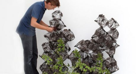 Tumbleweed 3D Trellis System by h2o architectes