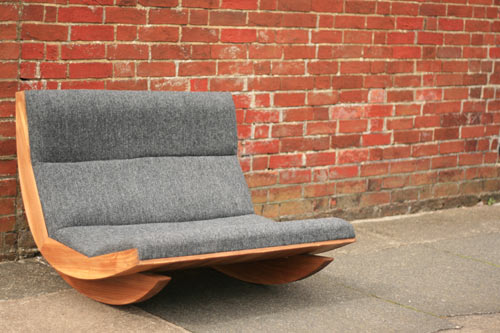 Harris Tweed Rocking Chair by Baines&Fricker in main home furnishings  Category
