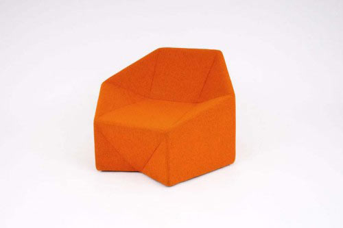 Hex Chair by Incorporated in home furnishings  Category