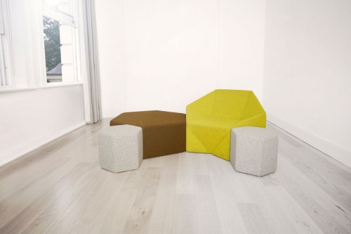 Hex Chair by Incorporated in main home furnishings  Category