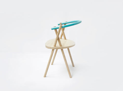 Stuck Chair by Oato Design Studio in main home furnishings  Category