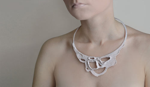 Okapiknits Knit and Crochet Necklaces in style fashion  Category