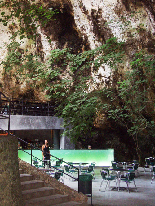 Bar in the Caves of Mallorca by A2 Arquitectos in architecture  Category