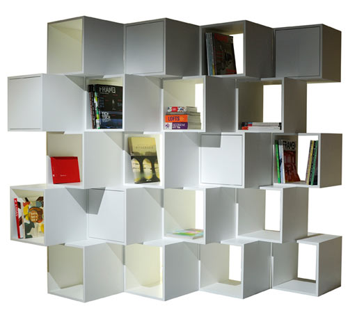 Limit Bookshelf Divider by Alp Nuhoglu