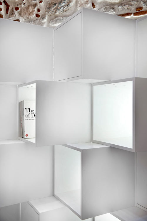 Limit Bookshelf Divider by Alp Nuhoglu in main home furnishings  Category