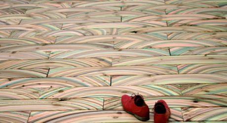 Marbelous Marble Wood Flooring by snedker°studio