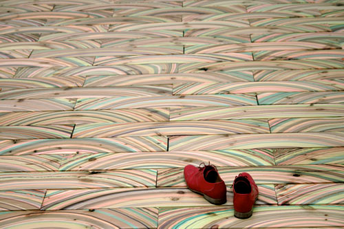 Marbelous Marble Wood Flooring by snedker°studio