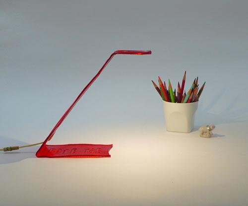 BITE ME: The Edible Desk Lamp by Victor Vetterlein