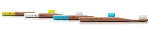 Bogobrush: The Biodegradable, Buy One Give One Toothbrush in style fashion Category
