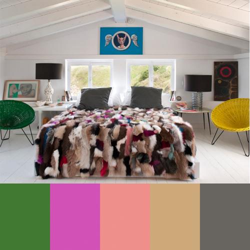 Maria Lladó's Colorful Interiors