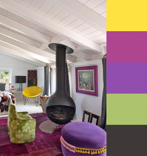 Maria Lladós Colorful Interiors in interior design home furnishings  Category