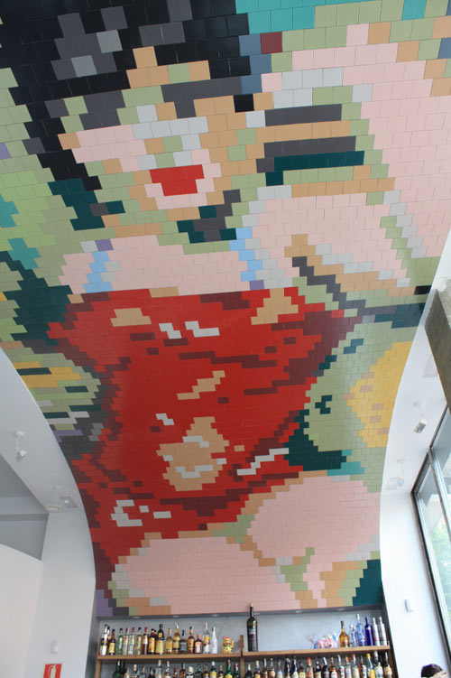 Amazing Mosaic Tile Mural by Agencia de Construcción de Ideas in interior design architecture  Category