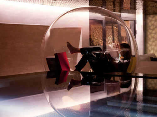 A Transparent Bubble You Can Live In: Cocoon 1 by Micasa LAB in main architecture  Category