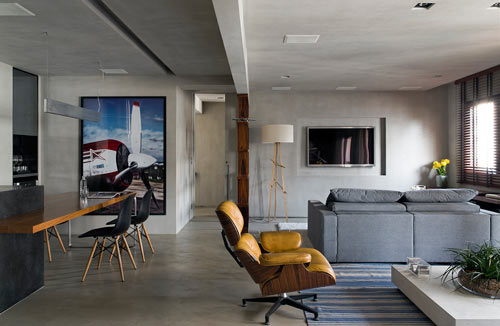 Real Parque Loft by Diego Revollo