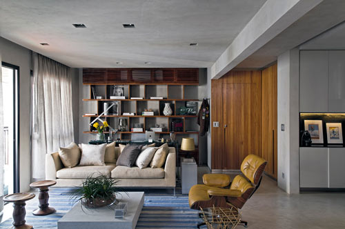 Real Parque Loft by Diego Revollo in main interior design architecture  Category