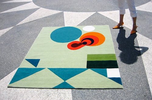 Art and Rugs by Michelle Weinberg