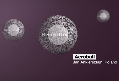 Electrolux Design Lab 2012   The Winner! in technology main  Category