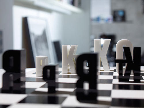 type(chess)set by Hat-trick Design