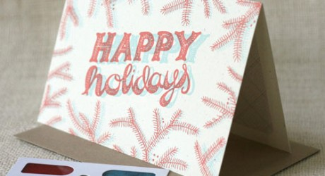 12 Modern Holiday Cards