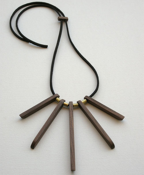 Modern Wood and Brass Jewelry by Jason Lees Design in style fashion main  Category