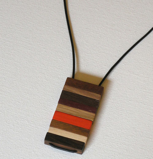 Modern Jewelry Design Ideas: Modern Wood And Brass Jewelry By Jason Lees Design
