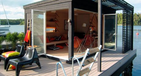 Kenjo: Cabin-Like Prefab Guest House or Studio